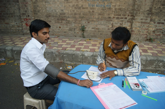 Blood Donation Camp at Blurbpoint