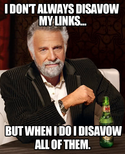 Disavow tools