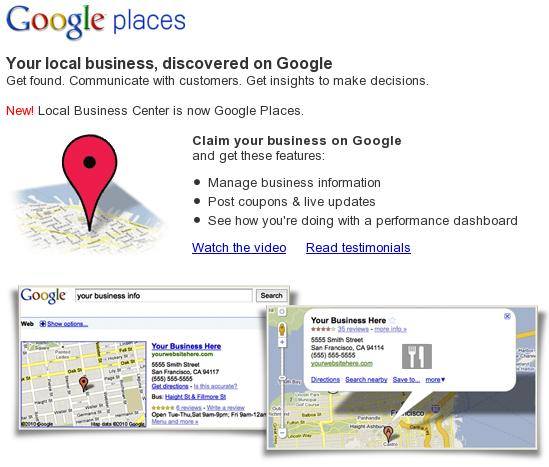 how to add business to google