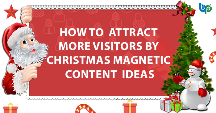 christmas magnetic content ideas